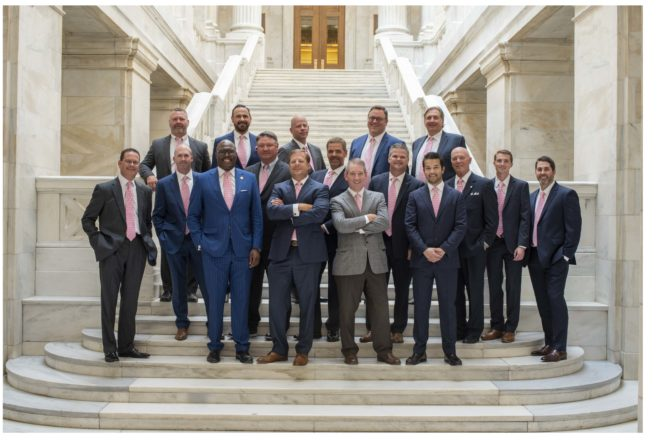 2019 Pink Tie Guys