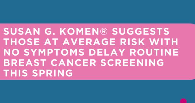 Routine Breast Screening